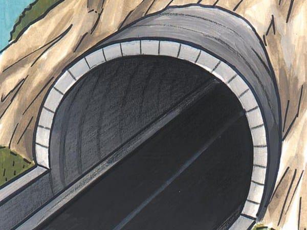 Fissativo impregnante antipolvere per gallerie e sottopassi PROTECH FIX TUNNEL by Azichem