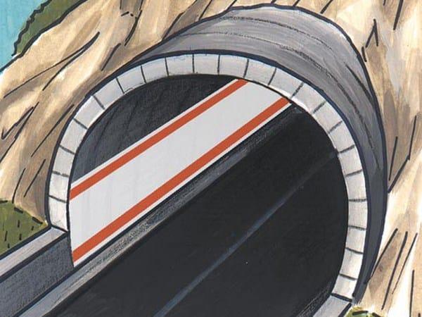 Pittura a tempera ad alta copertura, per tunnel, gallerie PROTECH TUNNEL by Azichem