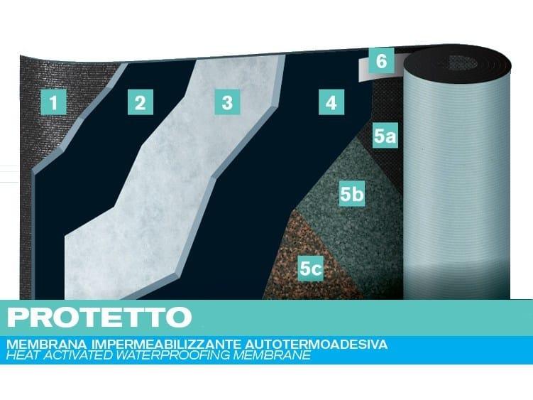 Self-adhesive membrane PROTETTO by PLUVITEC
