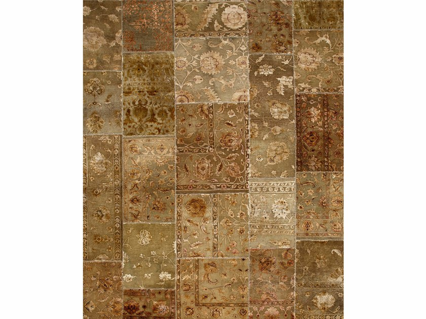 Tappeto fatto a mano PROVENANCE WOOL & SILK - GRAY BROWN - Jaipur Rugs
