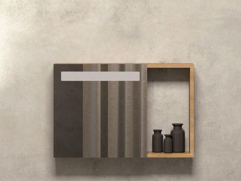 Wall-mounted bathroom mirror PRUA   Mirror by AZZURRA sanitari