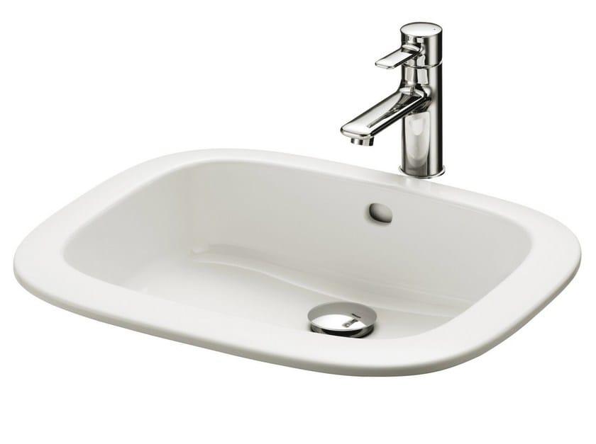 Built-In ceramic Public washbasin PUBLIC | Built-In Public washbasin - TOTO
