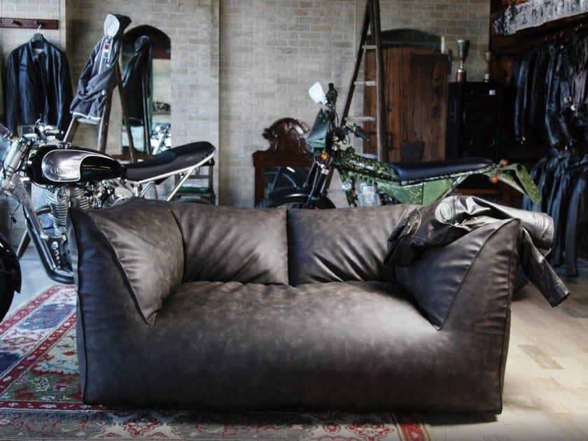 Upholstered 2 seater sofa PUFFONE | Sofa - GART Art & Design Group