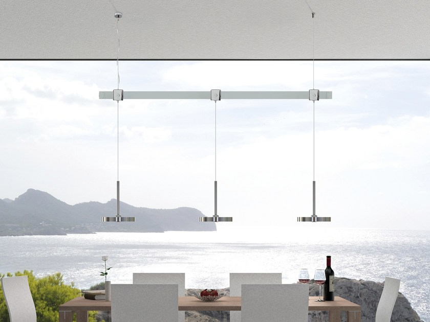 Lampada a sospensione PUK SYSTEM CEILING by Top Light