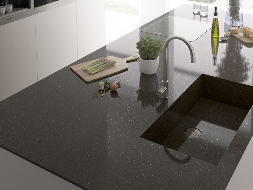 Porcelain stoneware kitchen worktop PULSAR ITOPKER by Inalco