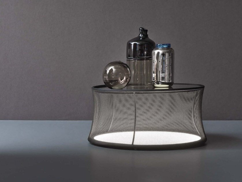 Low coffee table with light PULSAR LARGE - Natevo