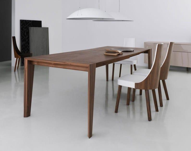 tavolo allungabile in legno pulse 175 | tavolo allungabile - italy ... - Come Estendere Un Tavolo Allungabile Lato