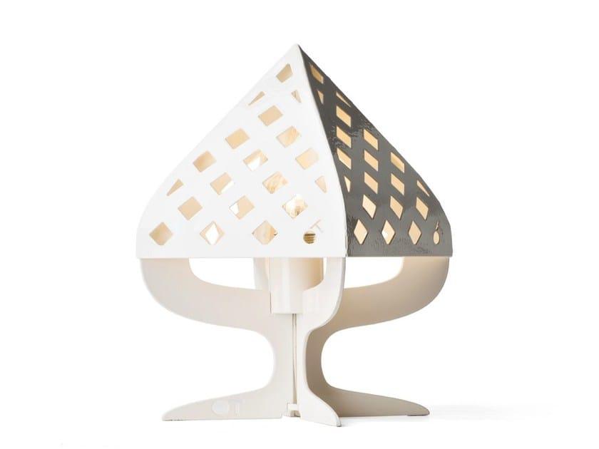 Steel table lamp PUMÒ - Officine Tamborrino