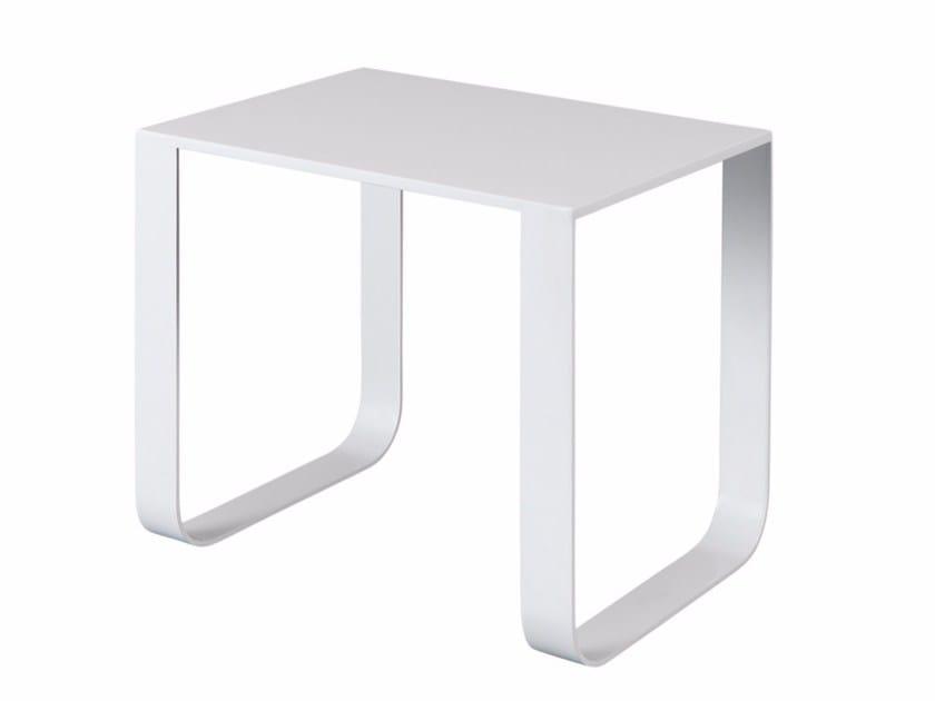 Rectangular steel coffee table PURDEY - AZEA