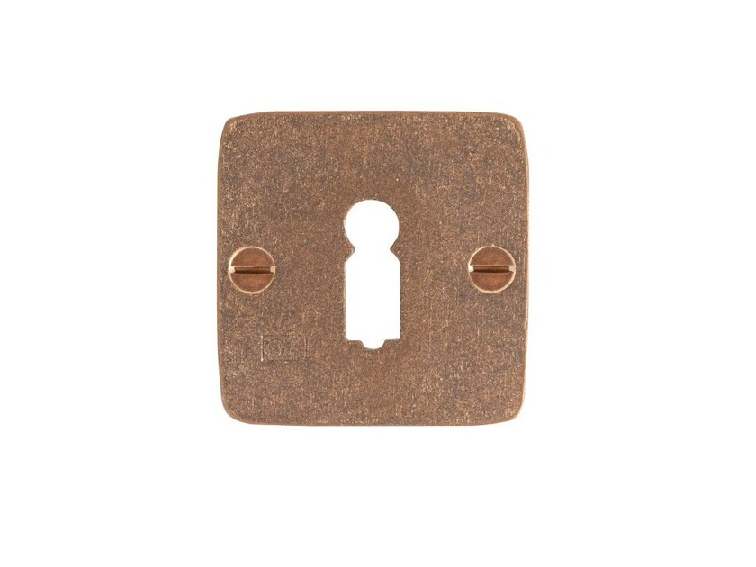 Square keyhole escutcheon PURE 14602 by Dauby