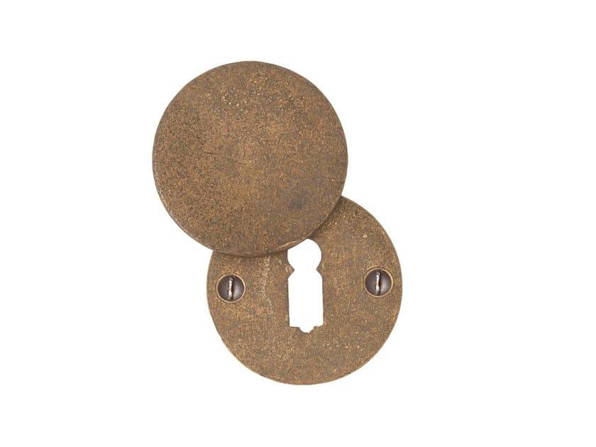 Round keyhole escutcheon PURE 14604 by Dauby
