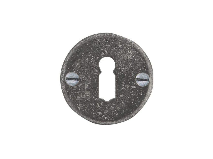 Round keyhole escutcheon PURE 14822 by Dauby