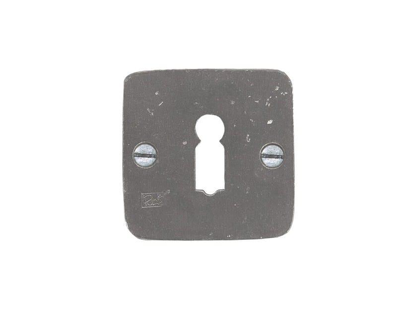Square keyhole escutcheon PURE 14824 by Dauby