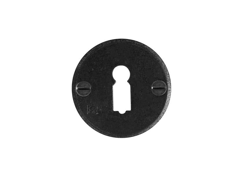 Round keyhole escutcheon PURE 7237 by Dauby