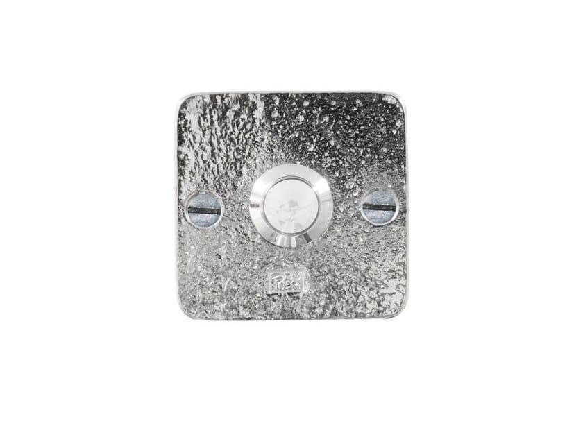 Metal doorbell button PURE 8559 by Dauby