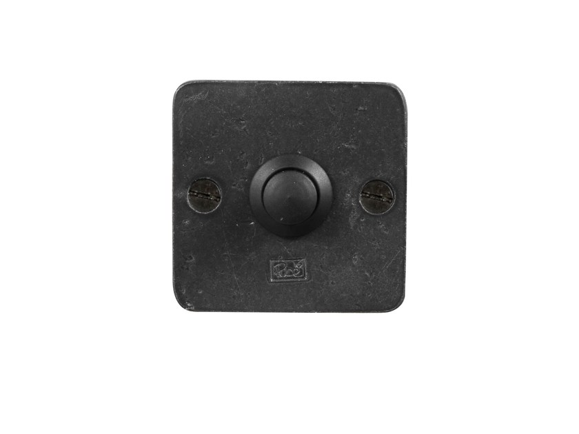 Iron doorbell button PURE 8560 by Dauby