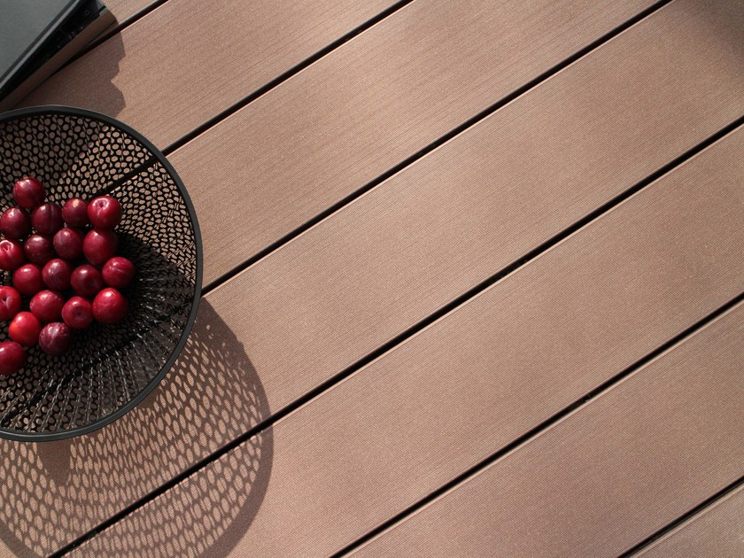 Wooden decking PURE WIDE MACAO PLAIN - MYDECK®