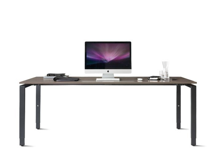 Rectangular office desk PURE - Wiesner-Hager