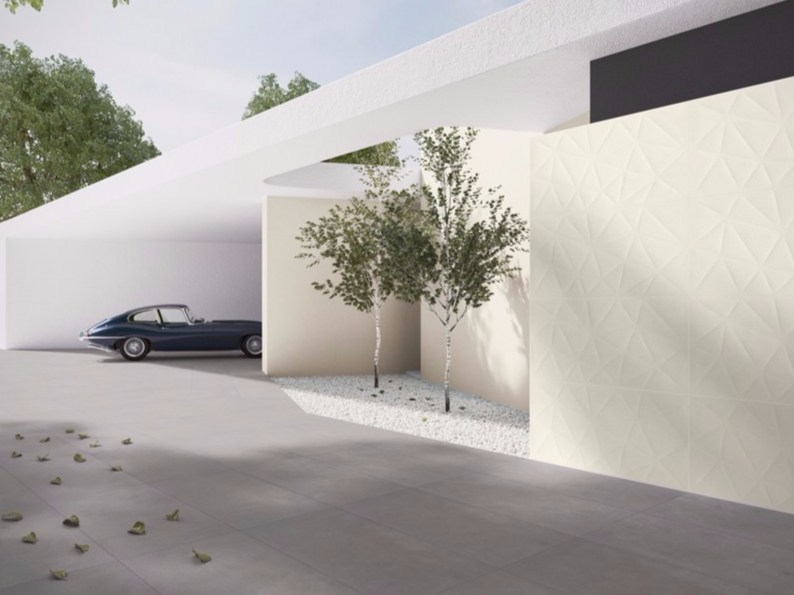 Indoor/outdoor resilient full-body porcelain stoneware wall/floor tiles with stone effect PURESTONE TECH - Revigrés