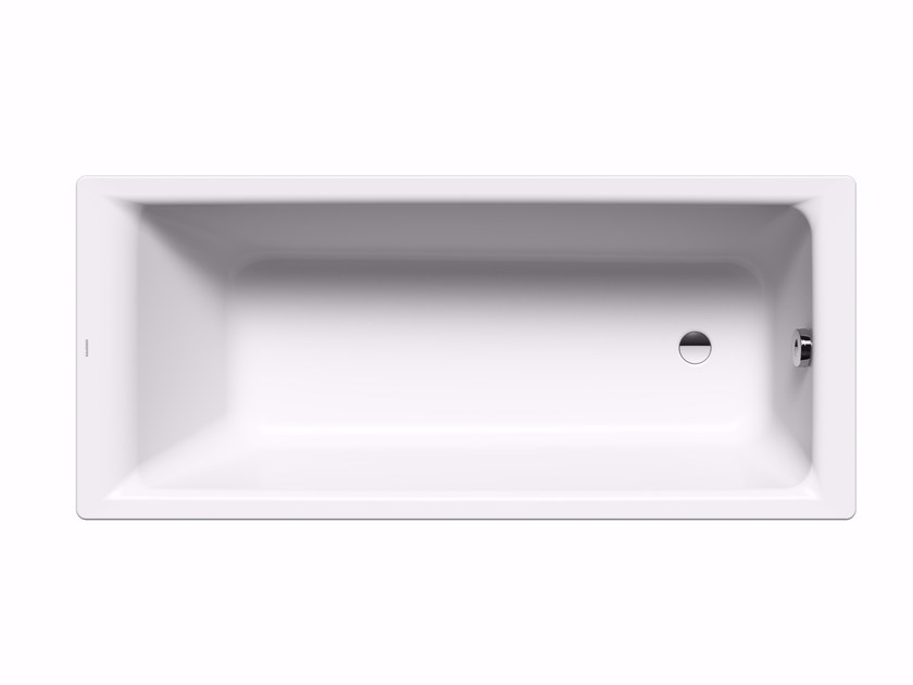 Rectangular steel bathtub PURO by Kaldewei Italia