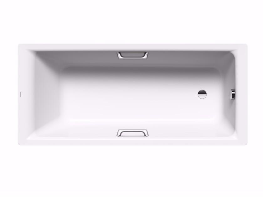 Vasca da bagno rettangolare in acciaio smaltato da incasso puro star kaldewei italia - Vasche da bagno in acciaio smaltato ...