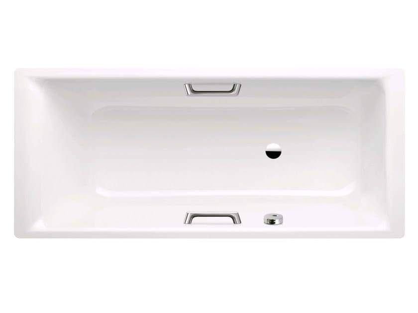 Vasca da bagno rettangolare in acciaio smaltato da incasso - Kaldewei vasche da bagno ...