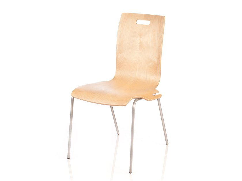 Reception chair with linking device PUZZLE - RIGA CHAIR