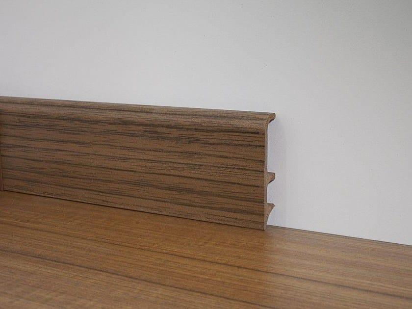 PVC Skirting board PVC LINE 8603 by PROFILPAS