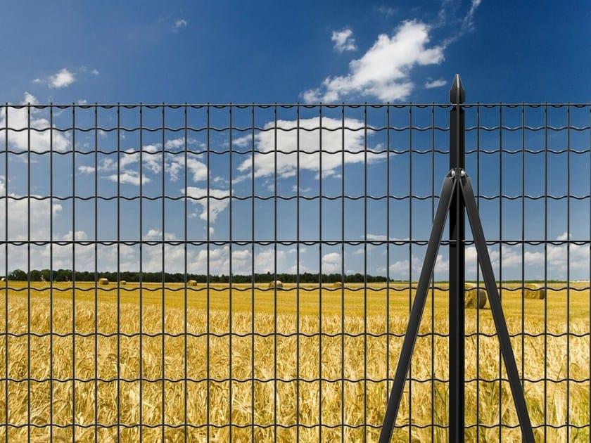 Palo in profilato t per sostegno di recinzioni - Altezza parapetti finestre normativa ...