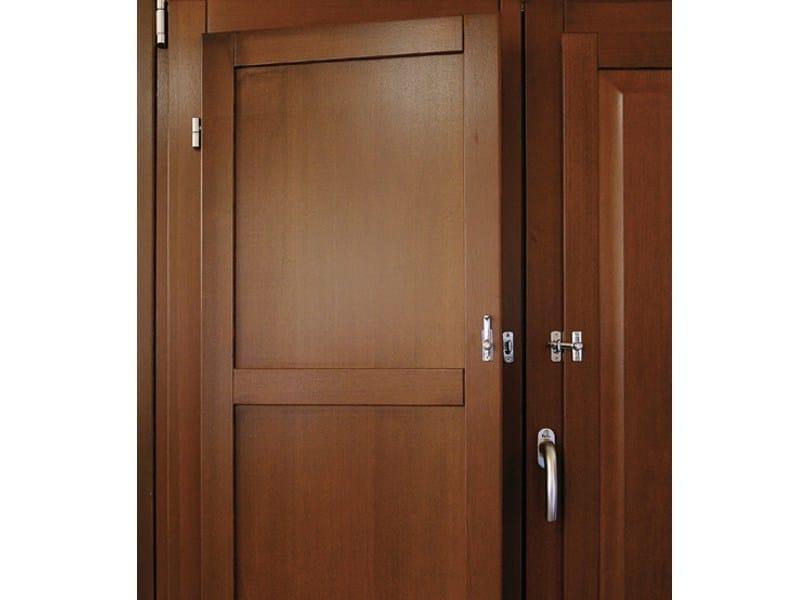 Wooden panel shutter Panel shutter - Pail Serramenti