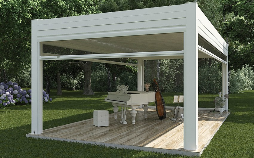 Gartenpavillon Aus Aluminium Pergocasa® Self Kollektion Pergocasa ... Gartenpavillon Aus Aluminium