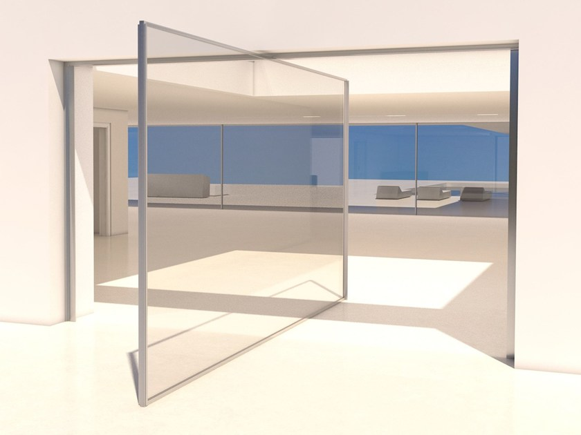 Aluminium pivoted window Pivot opening - OTIIMA