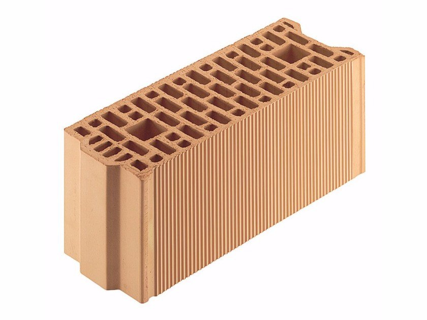 External masonry clay block Porotherm BIO 17-50/23,8 by Wienerberger