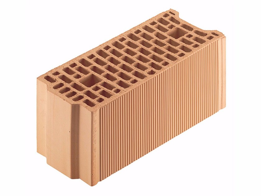 Thermal insulating clay block Porotherm BIO PLAN 20-50/19,9 by Wienerberger