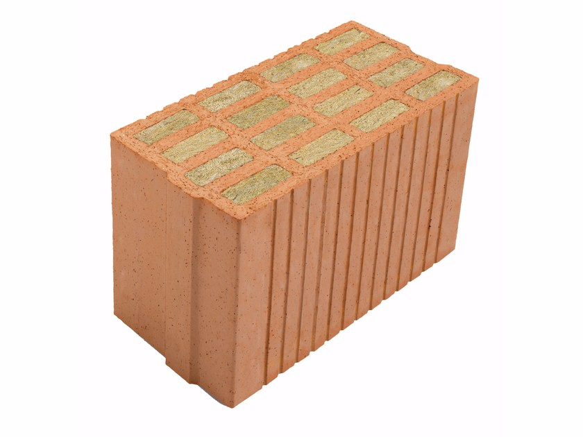 Thermal insulating clay block Porotherm PLANA+ 20 - 0,08 by Wienerberger