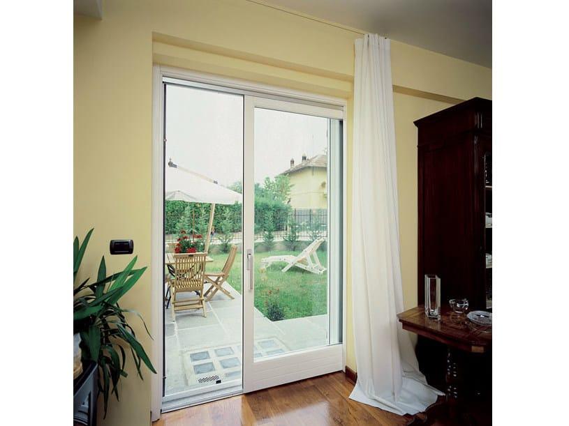 Porta finestra scorrevole a scomparsa in legno collezione - Porta scorrevole a scomparsa ...