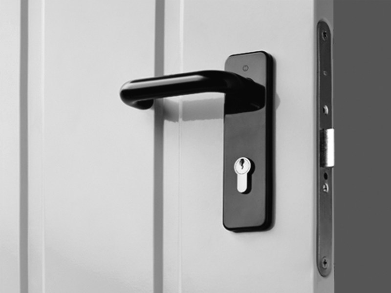 Galvanized steel door Steel door - DE NARDI