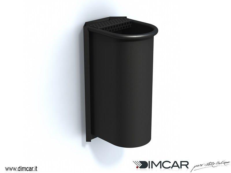 Steel ashtray Posacenere Cicco con attacco a muro - DIMCAR