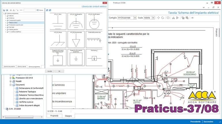 Manutenzione e gestione impianto praticus 37 08 for Miglior software di progettazione edilizia