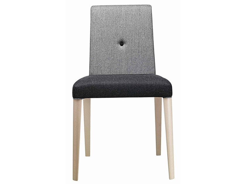 Upholstered wooden chair Punto 190 - Metalmobil