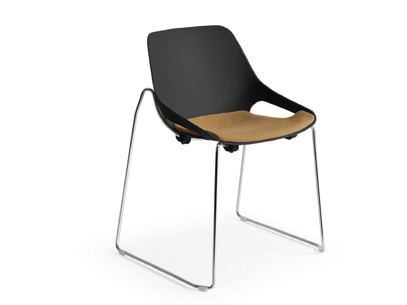 Sled base polypropylene chair Q.5 | Sled base chair - Quinti Sedute