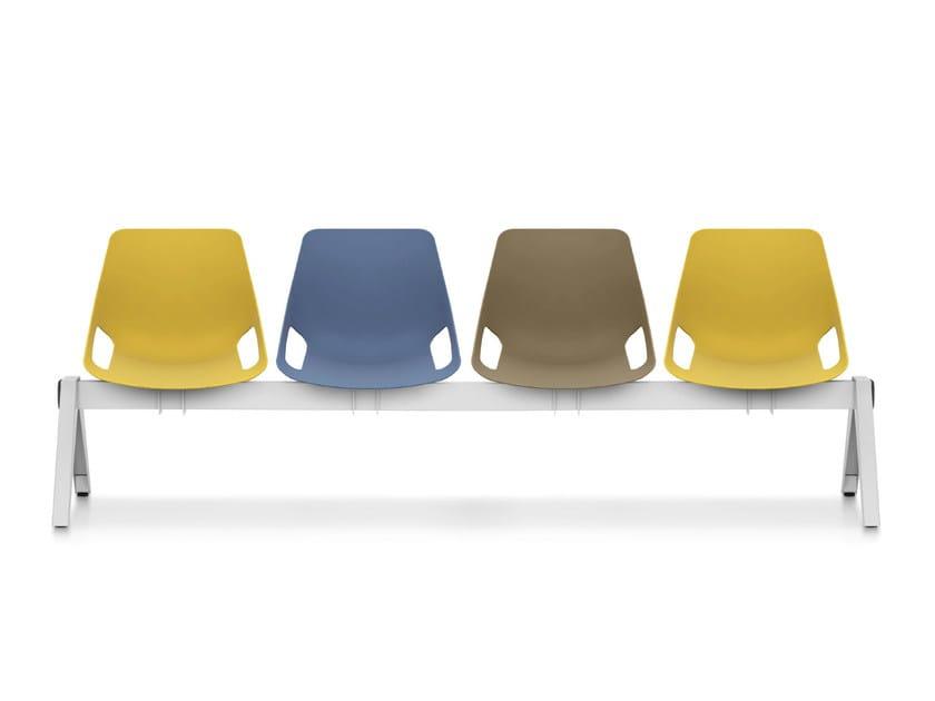 Polypropylene beam seating Q.5   Beam seating - Quinti Sedute