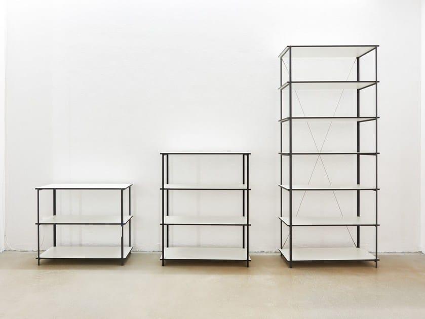 Open shelving unit Q1 | Bookcase - Jonas Hansen Furniture