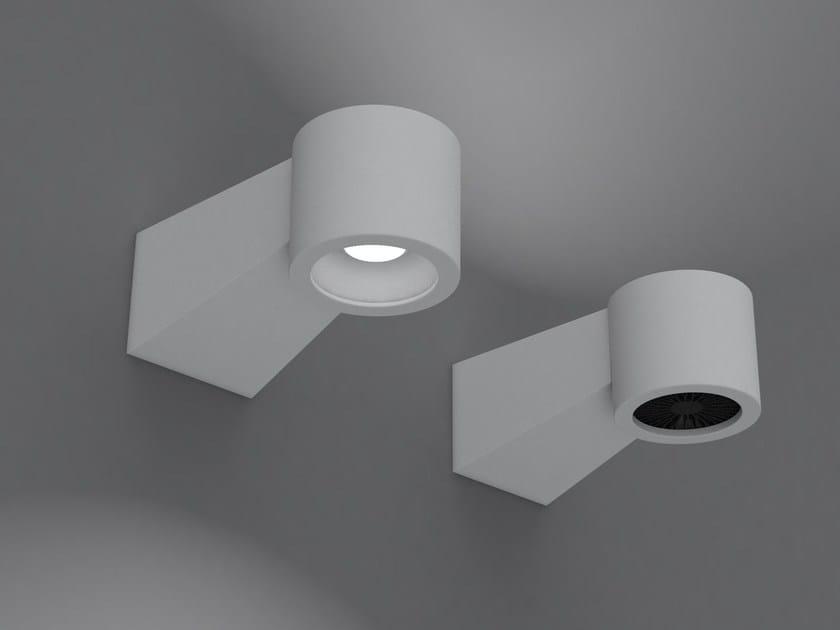 Indirect light aluminium wall lamp Q8-HP | Wall lamp - Martinelli Luce