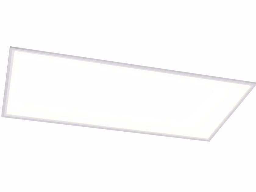 LED Ceiling mounted panel light QUAD X 30x120 48W - Quicklighting