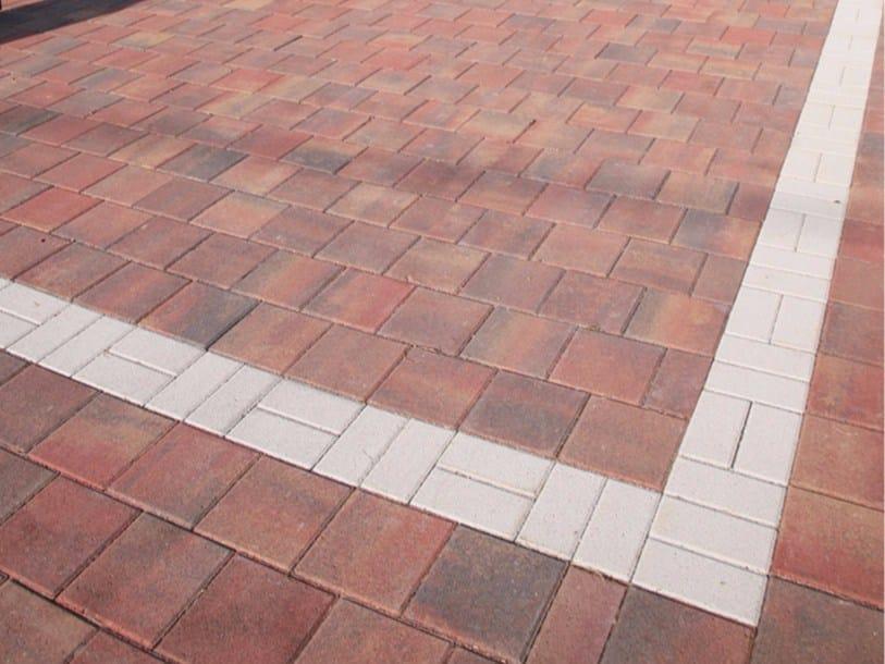 Concrete paving block QUADRATA - MICHELETTO PAVIMENTAZIONI