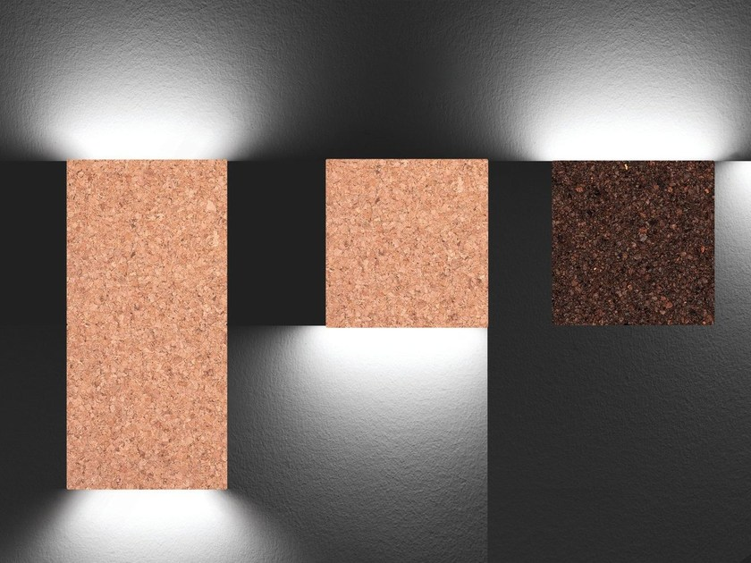 LED cork wall light QUADRI - Exporlux