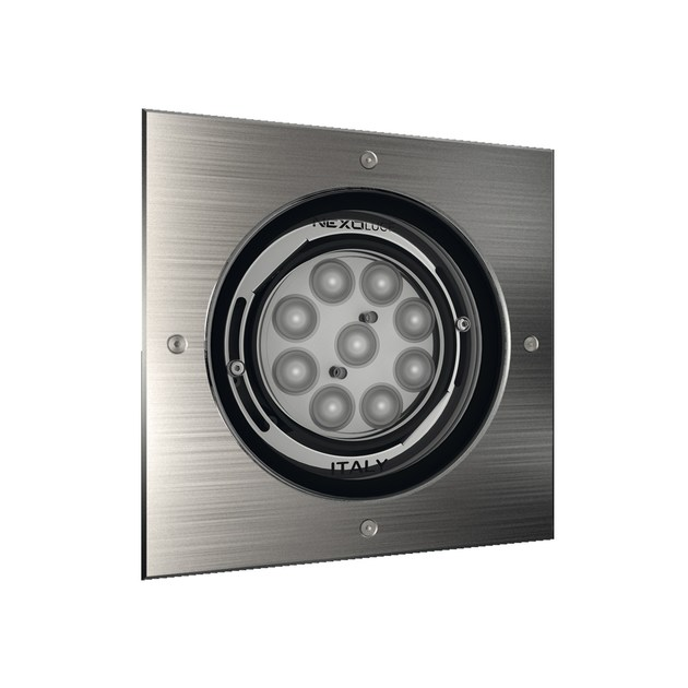 LED adjustable recessed Outdoor spotlight QUADRO 9 by NEXO LUCE