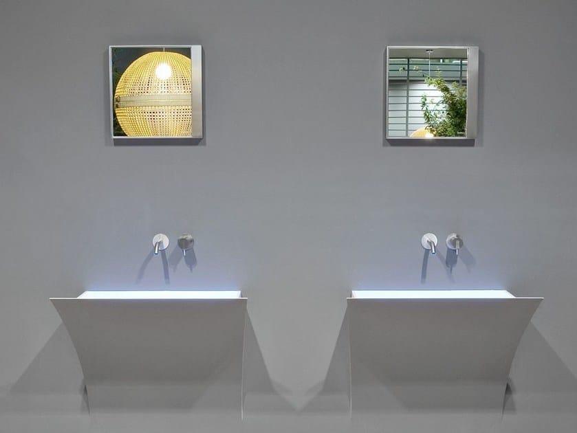 Design square mirror QUADRO - Antonio Lupi Design®