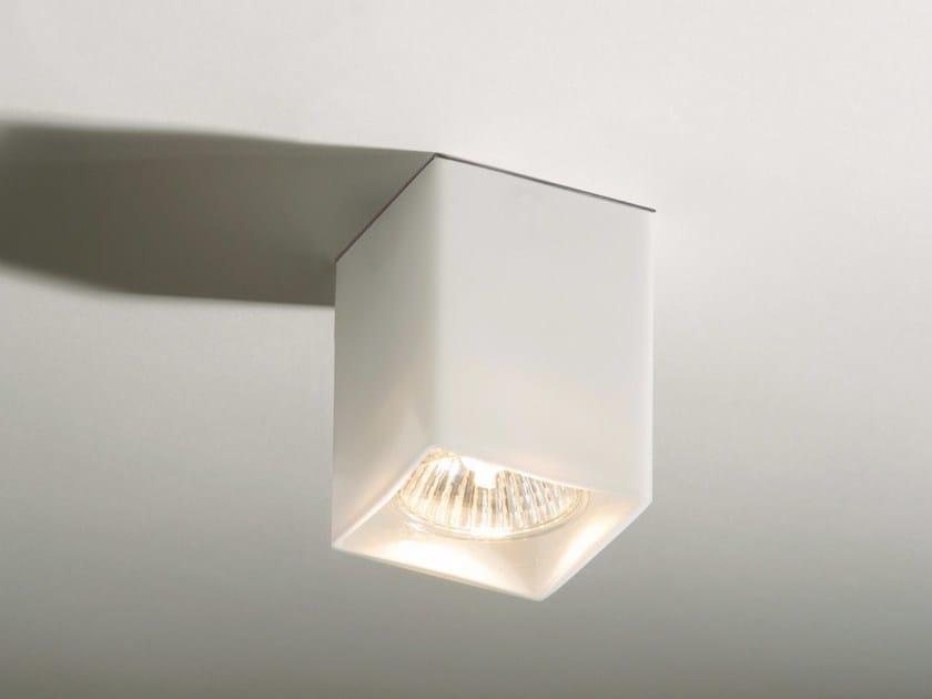 Glass ceiling lamp QUADRO - Top Light
